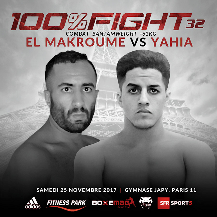 Sami YAHIA 100% FIGHT 32